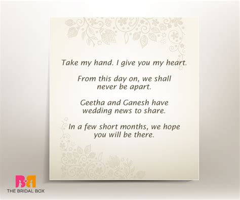 Wedding Anniversary Quote To The Elders by 7 Well Put Engagement Invitation Quotes