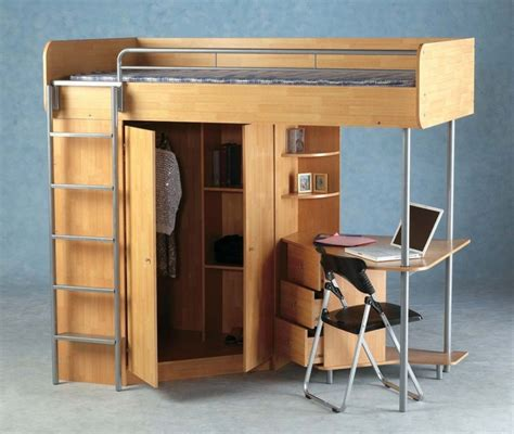 Bunk Bed With Wardrobe Wardrobe Bunk Beds Design Beds On Focus
