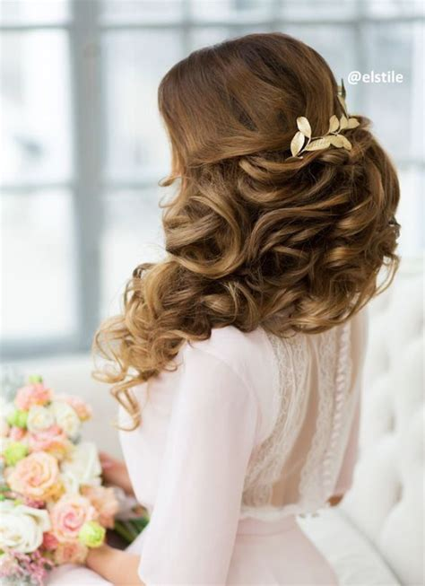 pulled back hair stylenoted newhairstylesformen2014 com pulled back voluminous waves wedding hairstyle modwedding