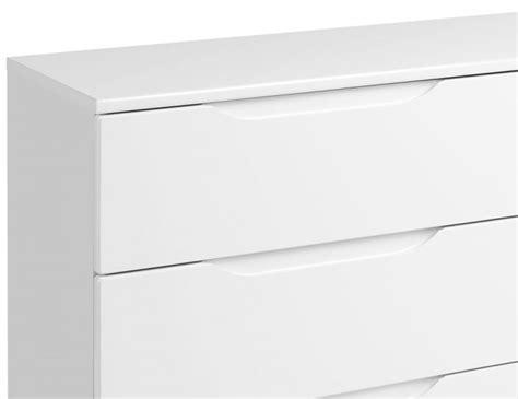 white high gloss 6 drawer chest trend 6 drawer white high gloss chest