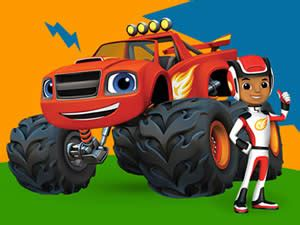 Blaze And The Monster Machines Tires V3arcade Blaze Truck