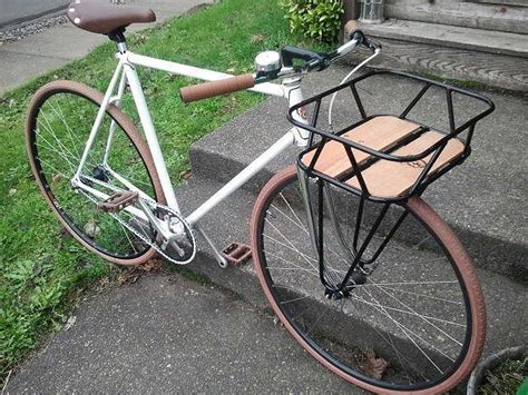 Fixed Gear Front Rack by Cool Front Rack On A Flat Bar Single Speed Rodes I Ales
