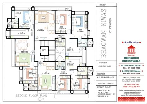 the oc house floor plan 2 bhk 1382 sq ft flat for sale at borivali east mumbai