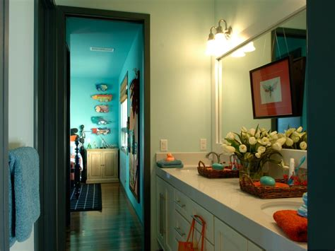 bathroom ideas for boy and girl 12 stylish bathroom designs for kids hgtv