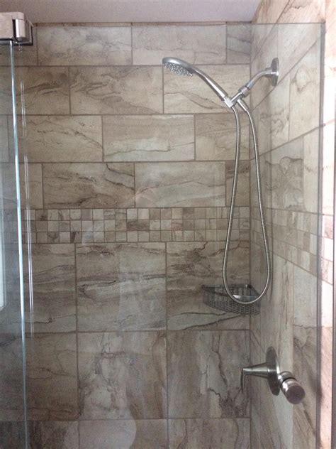 custom tile shower recent bathroom remodels nh bath builders