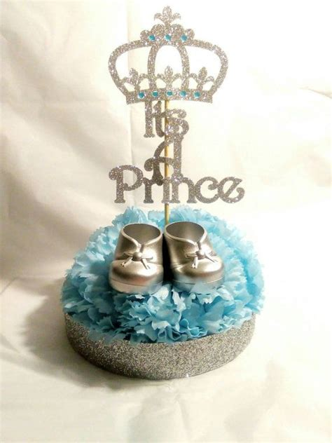 Prince Baby Shower Centerpieces by 1000 Ideas About Centerpieces On