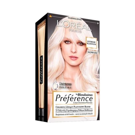 L'Oréal Paris les Blondissimes Préférence Hair dye Extreme