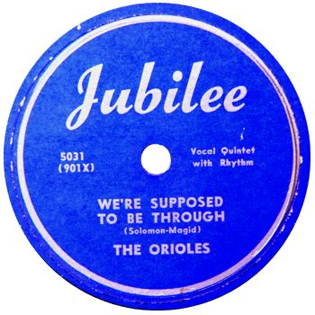what color is your supposed to be the orioles record label