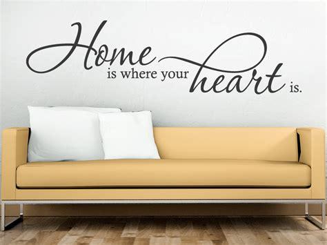 wandtattoo home is where your wandtattoo de
