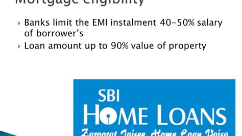 house loan eligibility in sbi sbi mortgage loan eligibility youtube