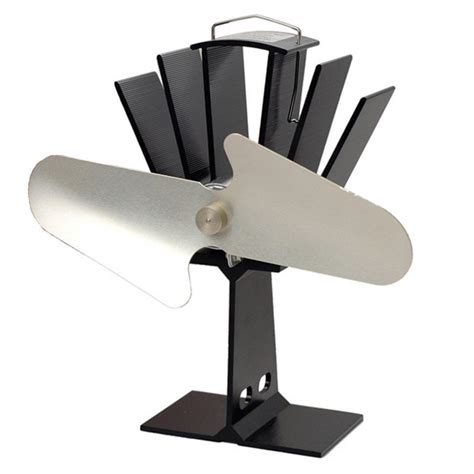 heat powered fireplace fan heat powered stove fan silver blades