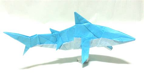 Origami Shark Diagram - origami origami how to make s origami shark mano of