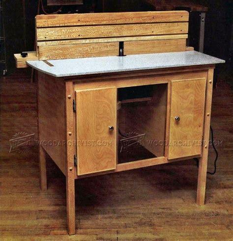 router bench plans ultimate router table plans woodarchivist