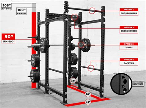 Rogue R4 Power Rack Review by Power Rack Squat Rack Review Ultimate Shopping Guide