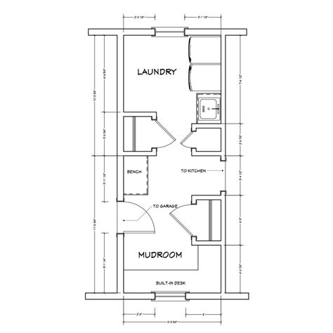 mud room floor plans