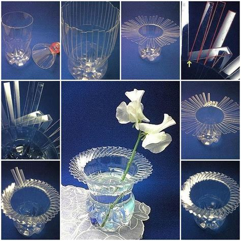 Diy Plastic Bottle Vase by Diy Beautiful Vase With Plastic Bottle