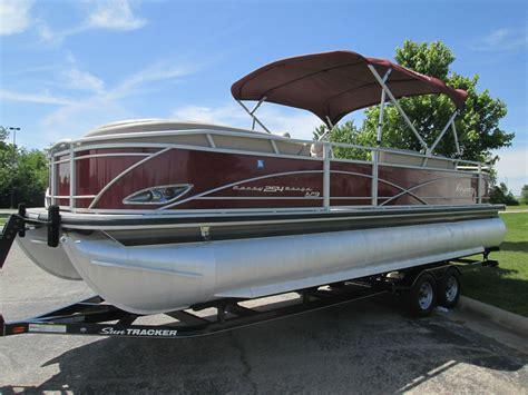 regency tritoon boats for sale sun tracker regency 254 tritoon 200hp 4 stroke trailer
