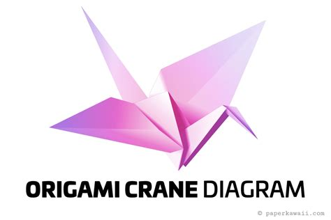 Origami Crane For Beginners - easy origami crane