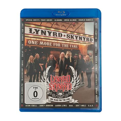 one more for the fans lynyrd skynyrd one more for the fans blu ray blackbird