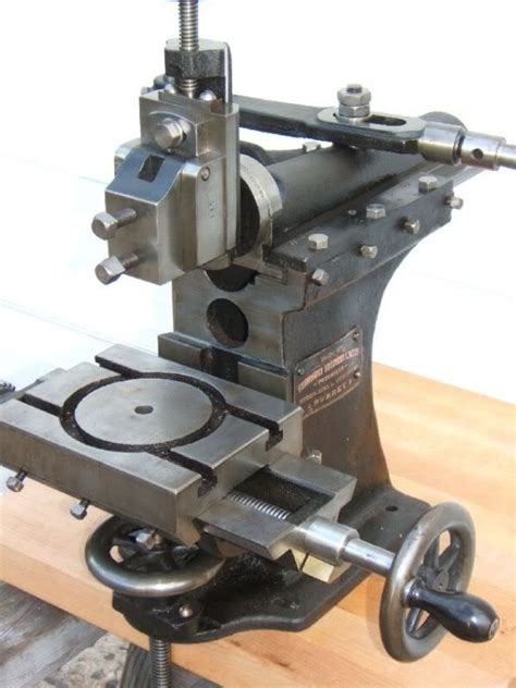 Drummond Benchtop Manual Shaper About 1908 Other