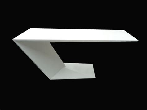 Acrylic Solid Surface acrylic solid surface office desk tw patb 001 the most trusted artificial furniture