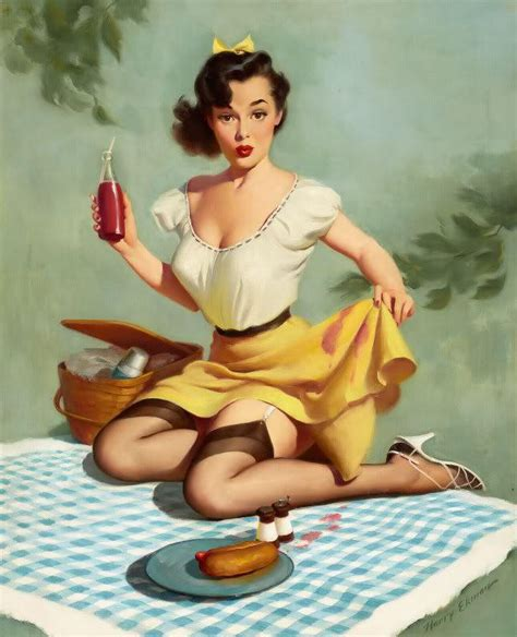 retro pin up lets eat out girl home decor canvas print vintage 50s pin up girls march 2013
