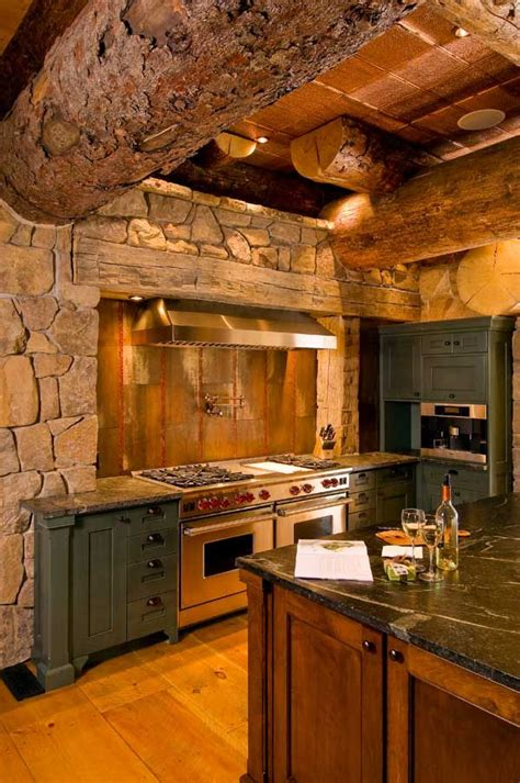 Rustic Log Kitchen Cabinets 298 Best Images About Rustic Kitchens On Pinterest Kitchens Log Homes And Kitchen Ideas