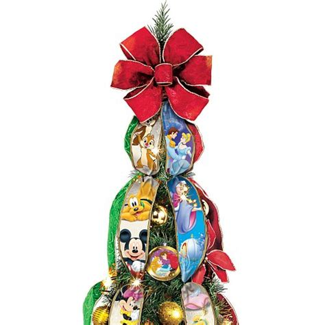 ultimate disney character tree ultimate disney wondrous pre lit pull up tree by the bradford exchange