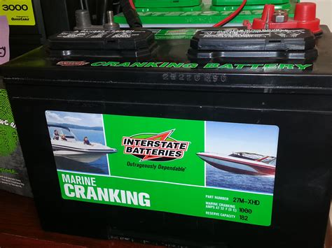 boat starting battery marine batteries explained cranking or deep cycle