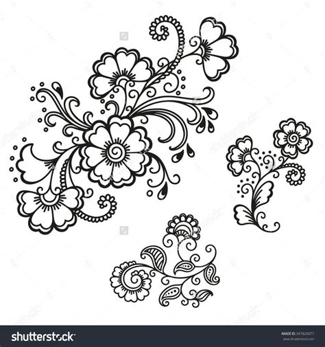 henna tattoo designs templates 1000 ideas about henna flowers on henna