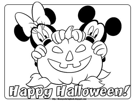 mickey friends halloween 2 free disney halloween coloring pages learn coloring