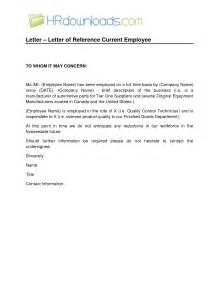 Reference Letter For Term Employee Best Photos Of Generic Employee Recommendation Letter Sle Sle Of Immigration Reference