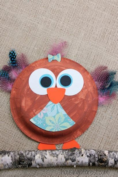 Paper Plate Snowy Owl Craft - 1000 images about owls on cupcake liners