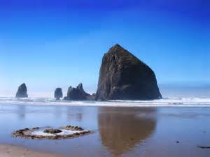 nature haystack rock picture nr 33632