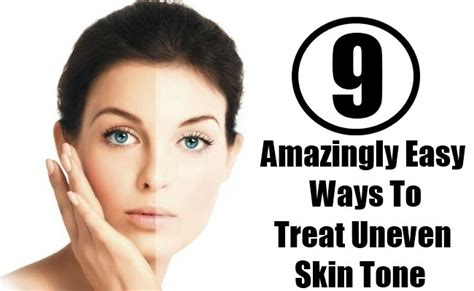 9 amazingly easy ways to treat uneven skin tone diy home