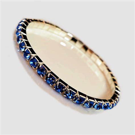 light blue crystal bracelet austrian crystal stretch bracelets