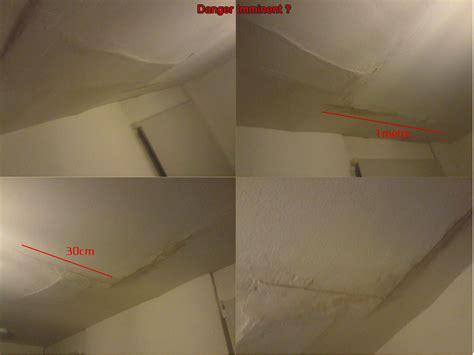Mur Fissur Comment R Parer 3132 by Fissure Plafond Fissure Au Plafond Et Compromis De Vente