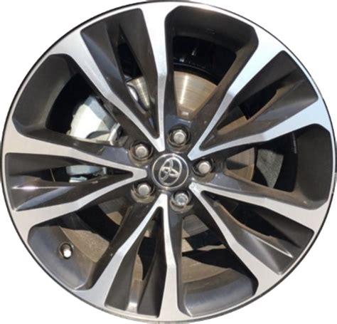 toyota corolla wheels rims wheel rim stock oem replacement