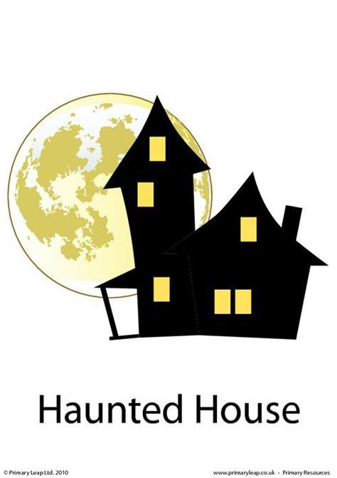 halloween flashcards printable halloween flashcard haunted house primaryleap co uk
