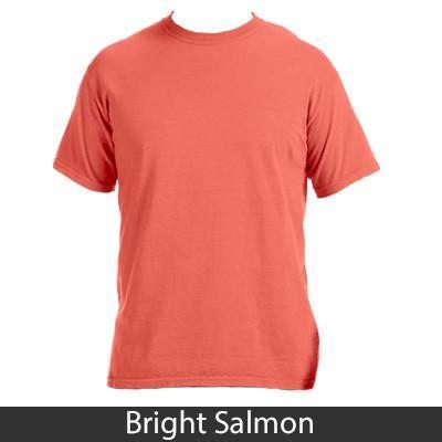 comfort colors salmon sorority est printed custom t shirt greek gear and clothing