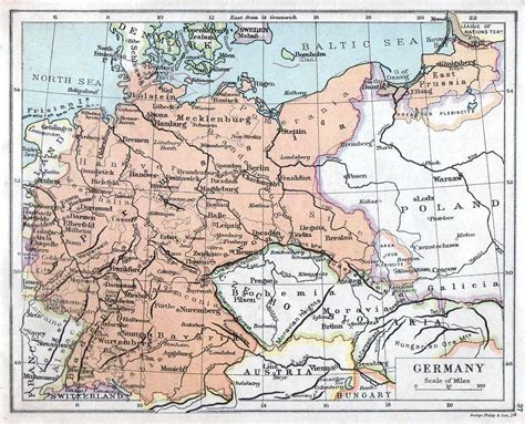 germany 1930 map historical maps of germany