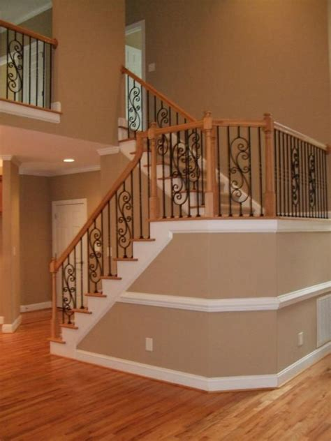 New Stairs Design New Home Staircases Oak Craftsman And More Styles And Trends Craftsman Staircase