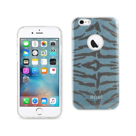 Dijamin Casing Softcase Motif Iphone 6 6s reiko iphone 6 6s design in tiger blue dtpu02 iphone6tgbl the home depot