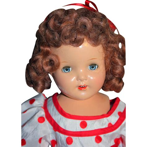 what s a composition doll shirley temple doll composition look a like 19 quot from 1930