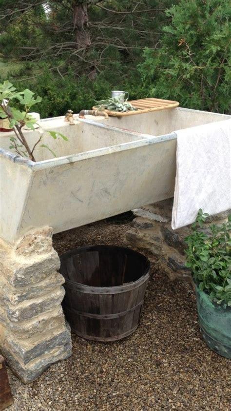 backyard sink 25 best ideas about outdoor sinks on pinterest outdoor