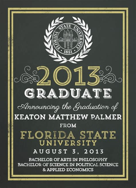 college graduation invitation templates badbrya com