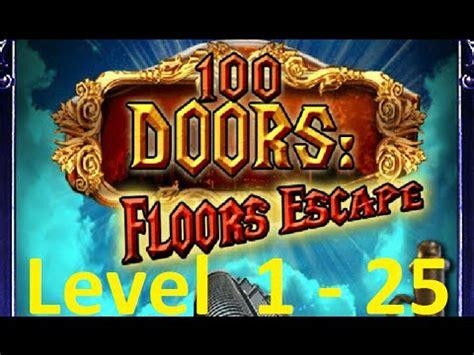 100 floors level 24 tower 100 doors floors escape level 1 25 tower 100