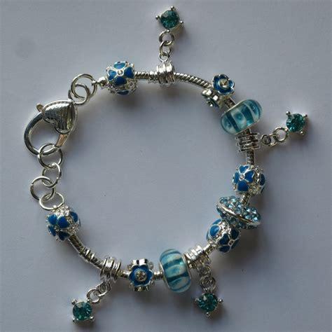 pandora style pandora style armband lichtblauw blubbie nl