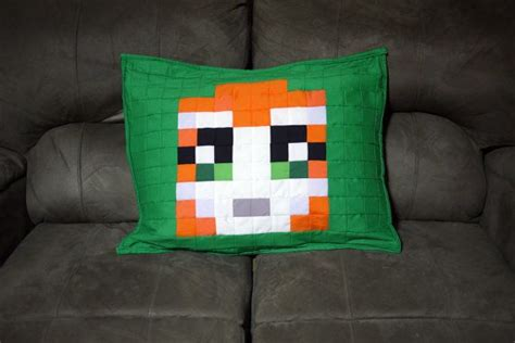 Minecraft Pillow Pattern by Minecraft Plush Pillow Pet Related Keywords Minecraft
