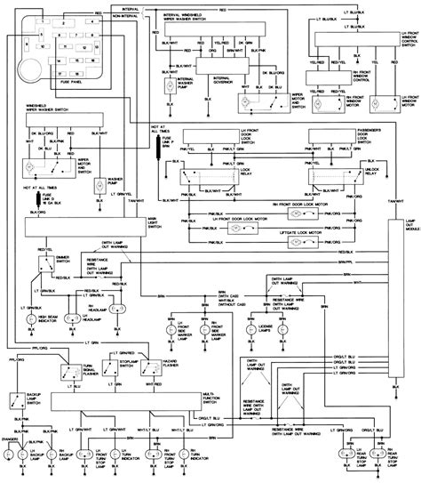 1990 Ford Steering Column Diagram Repair Guides Wiring